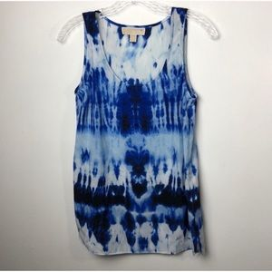 Michael Kors Tops - Michael Kors XS Tie Dye Sleeveless Blouse EUC